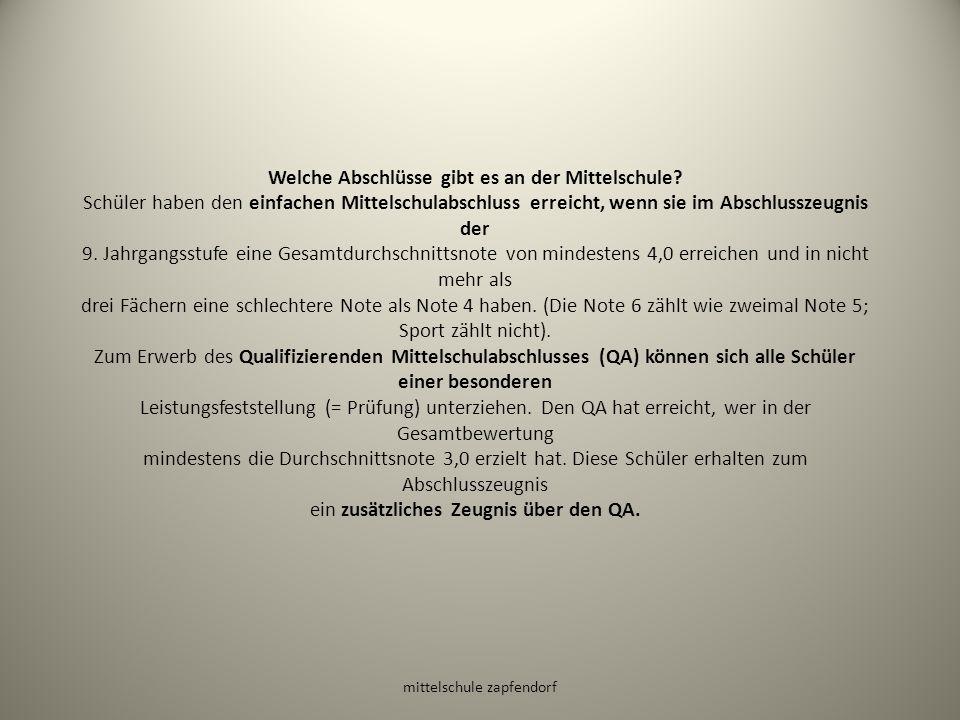 mittelschule zapfendorf Qualifizierender Mittelschulabschluss 2014 Stephan Zwosta, 9a