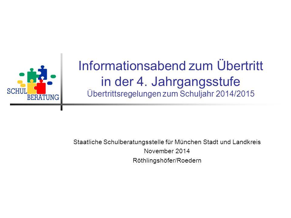 Originalfassung: Staatliche Schulberatungsstelle München, November 2014.