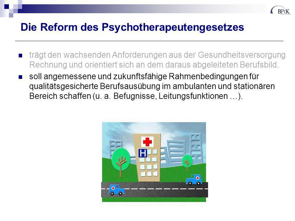 Kompetenzen für den Psychotherapeutenberuf in Studium und Aus-/Weiterbildung 1.