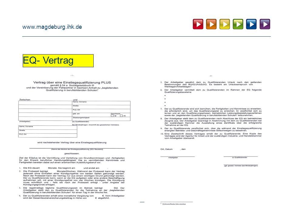 www.magdeburg.ihk.de EQ- Vertrag