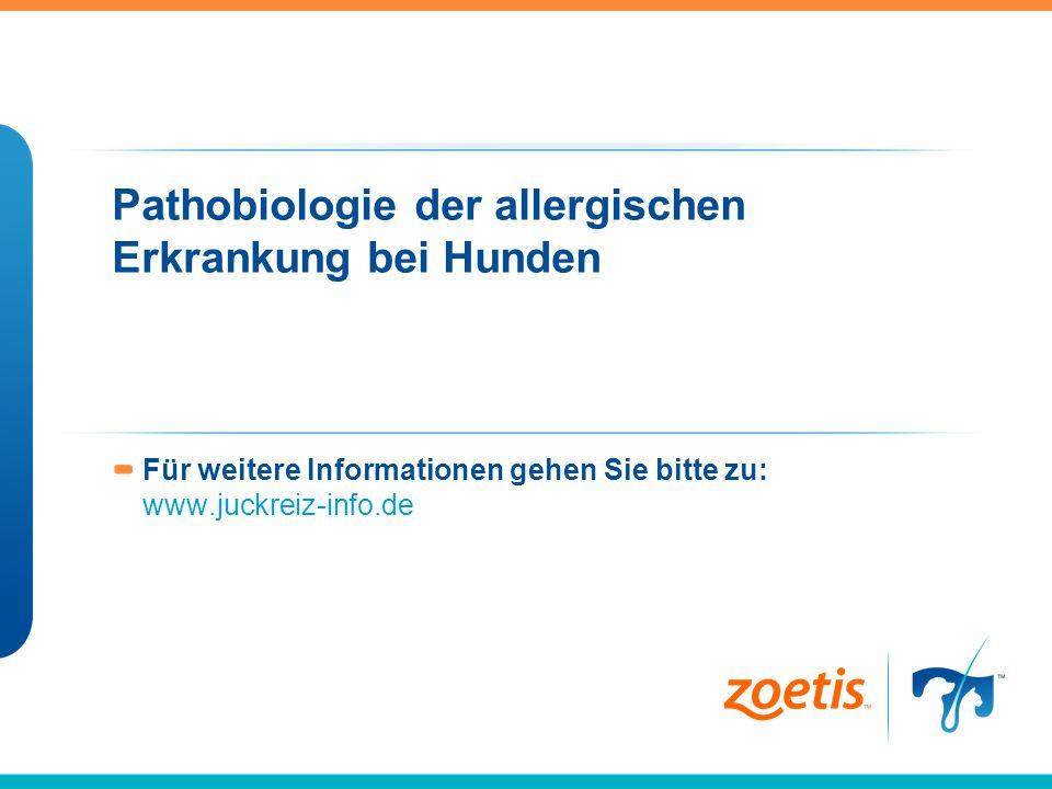 Für weitere Informationen gehen Sie bitte zu: www.juckreiz-info.de Pathobiologie der allergischen Erkrankung bei Hunden