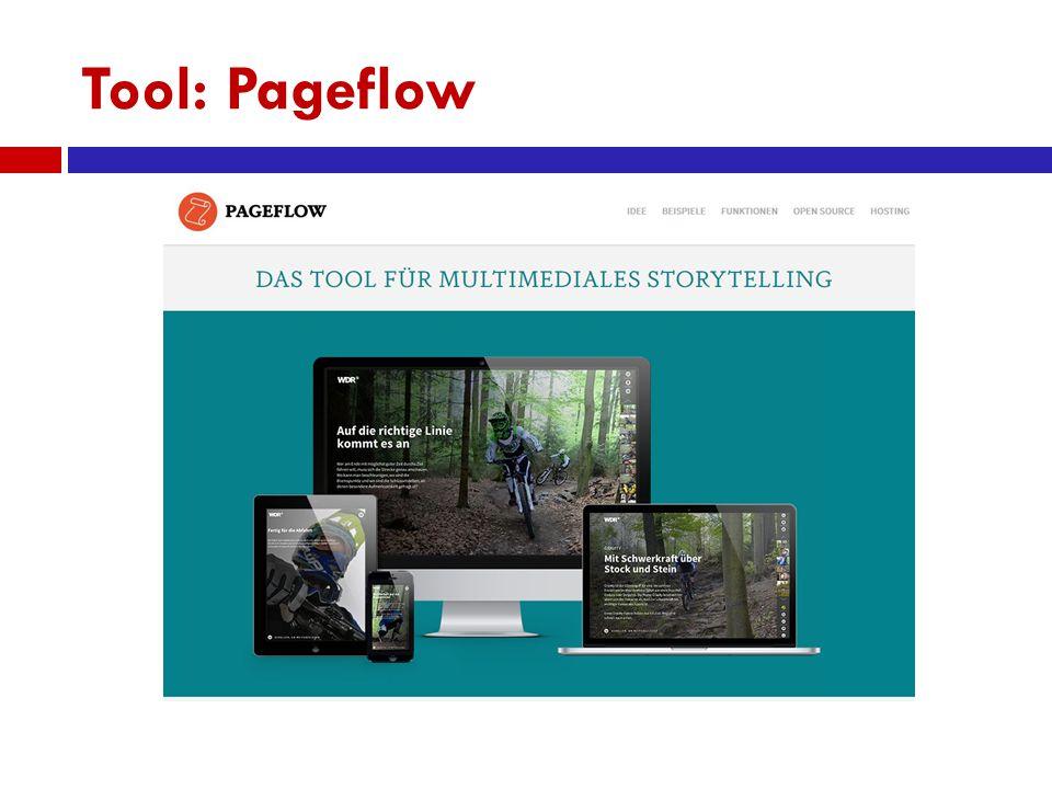 Tool: Pageflow