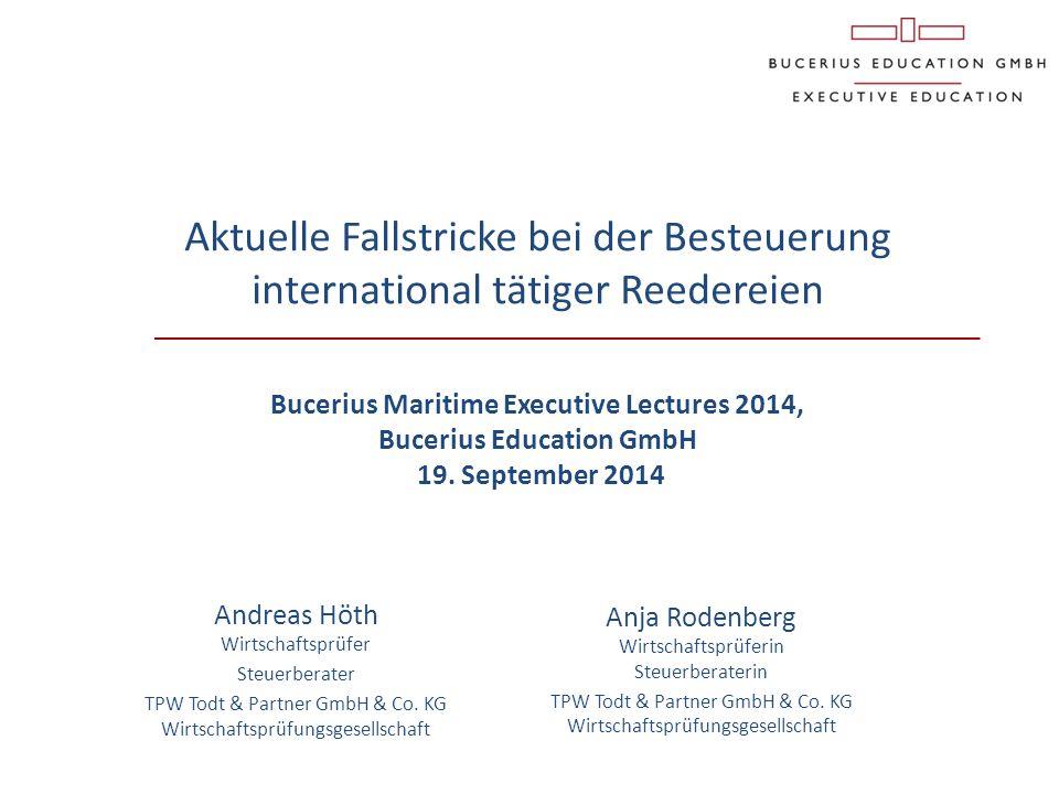 Anja Rodenberg Wirtschaftsprüferin Steuerberaterin TPW Todt & Partner GmbH & Co. KG Wirtschaftsprüfungsgesellschaft Aktuelle Fallstricke bei der Beste