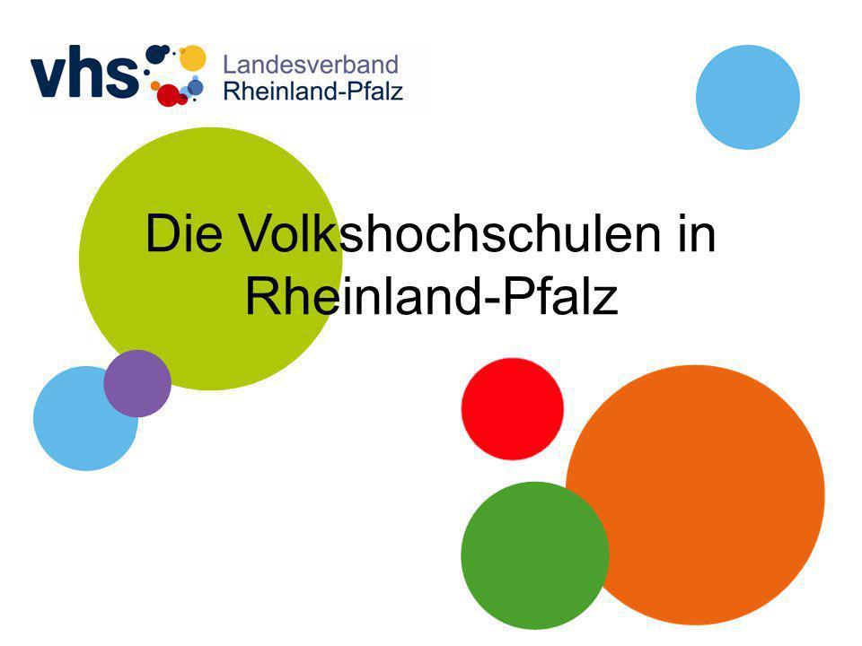 Die Volkshochschulen in Rheinland-Pfalz