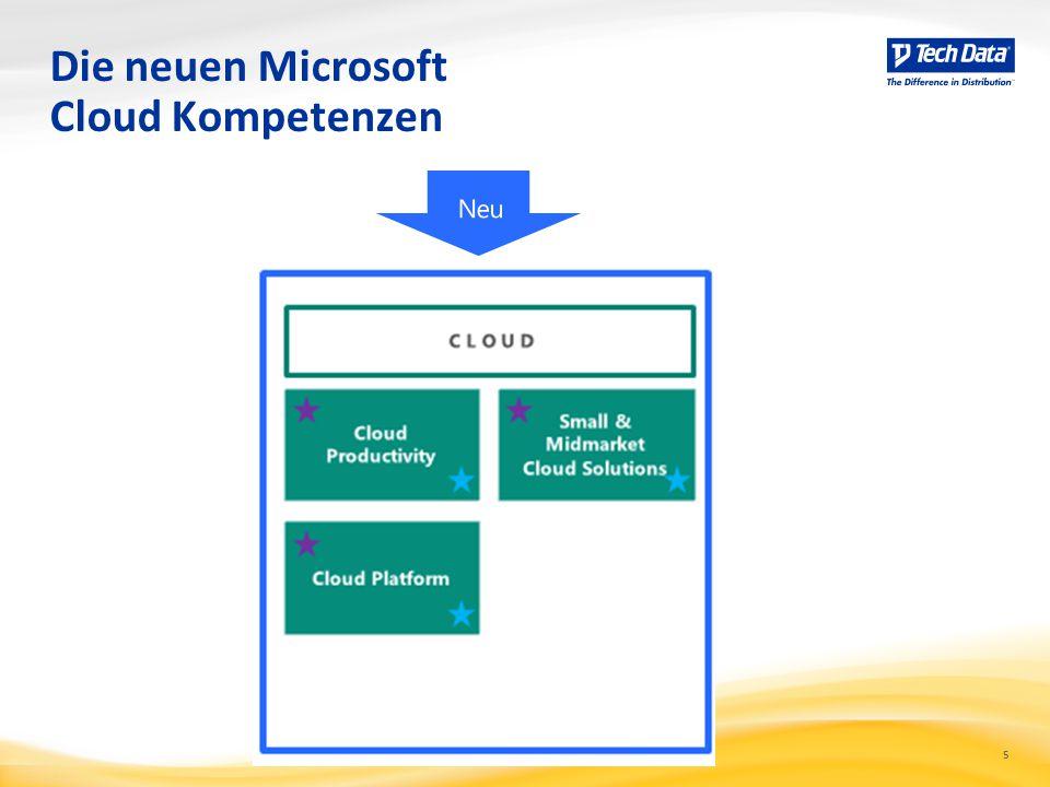 5 Die neuen Microsoft Cloud Kompetenzen