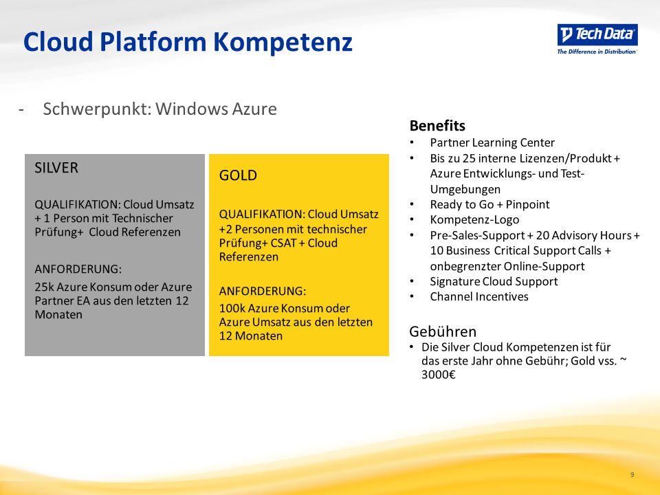 9 Cloud Platform Kompetenz