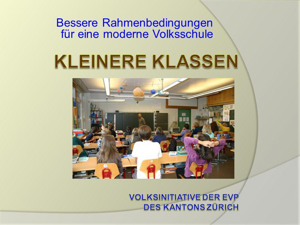 Bessere Rahmenbedingungen für eine moderne Volksschule