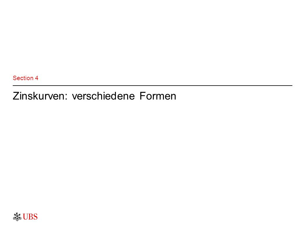 Zinskurven: verschiedene Formen Section 4