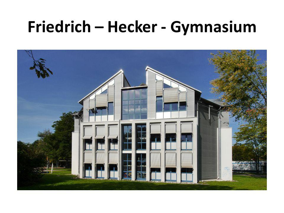 Friedrich – Hecker - Gymnasium