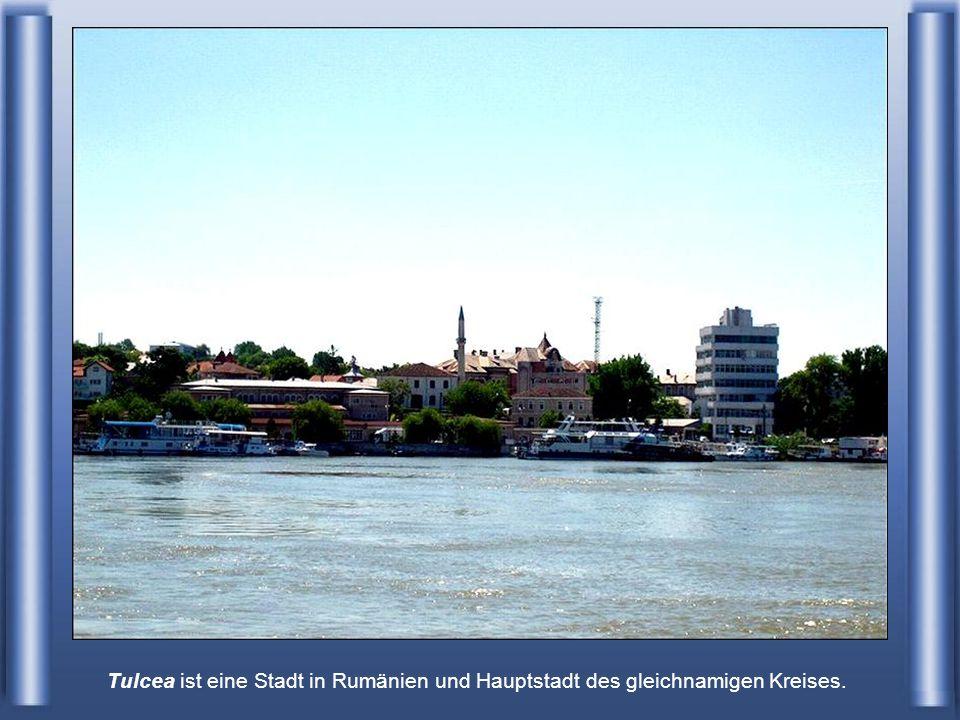 Tulcea Rumänien - an der Donau