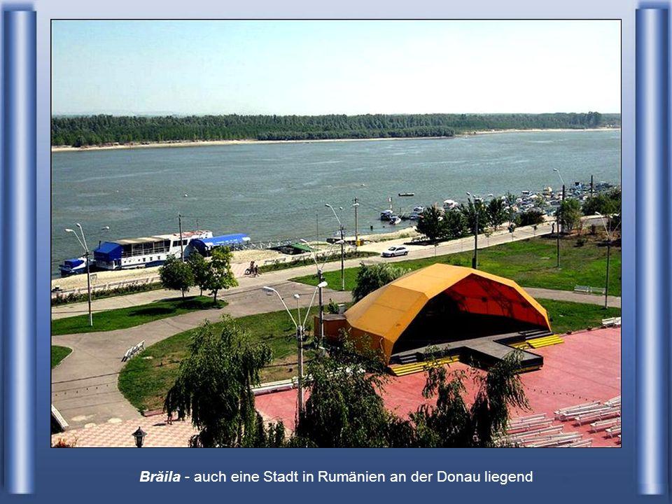 hier durchfließt die Donau Galati - das jüngste Land Rumäniens