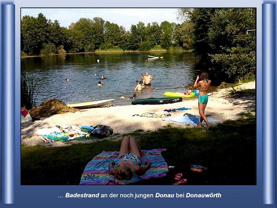Ulm – Deutschland - hier haben schon einige Zuflüsse nachgeholfen, den Wasserstend imens steigen lassen.