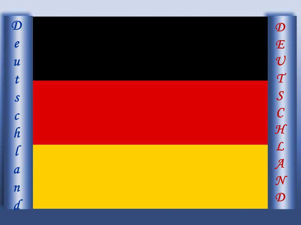 DEUTSCHLANDDEUTSCHLAND DeutschlandDeutschland Deutschland liegt mitten in Europa, hat eine Fläche von 357000 Quadratkilommeter und 82.057.000Einwohner.