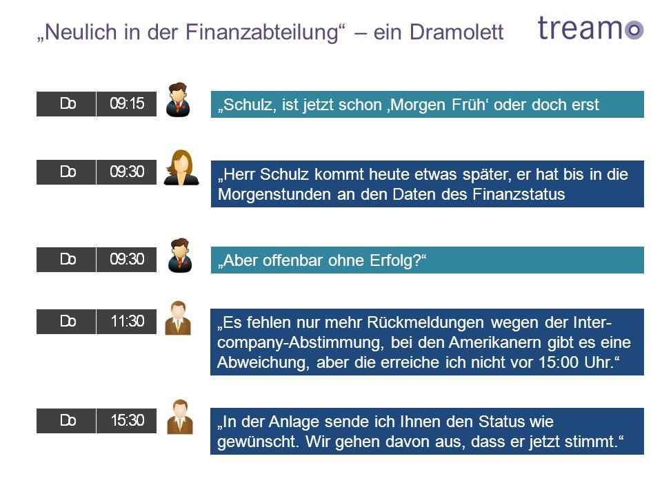 """""""Neulich in der Finanzabteilung"""" – ein Dramolett """"Herr Schulz kommt heute etwas später, er hat bis in die Morgenstunden an den Daten des Finanzstatus"""