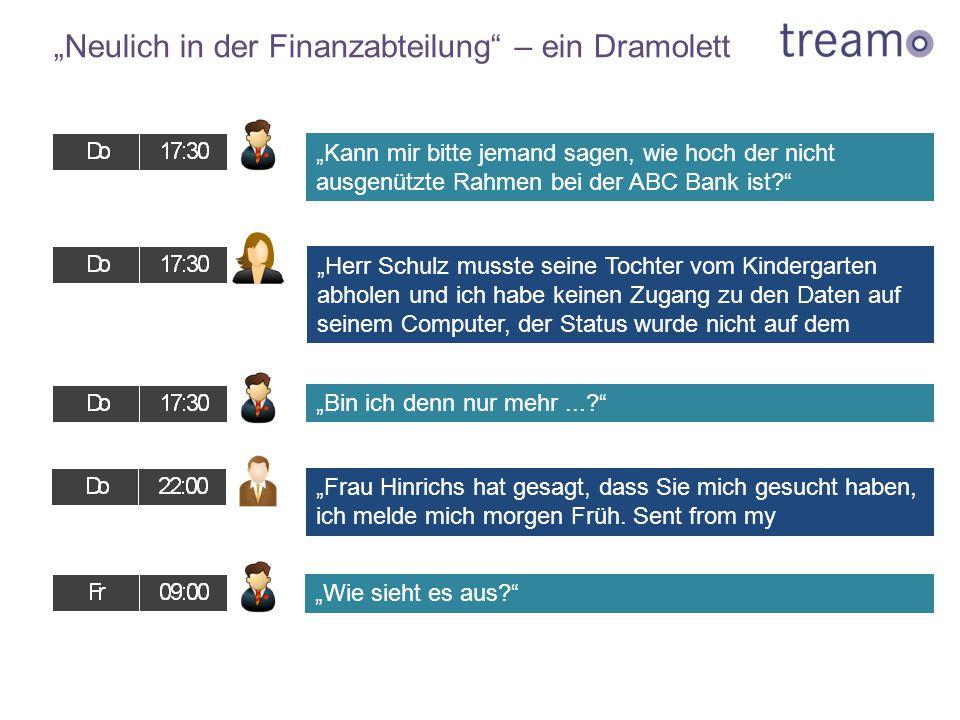 """""""Neulich in der Finanzabteilung"""" – ein Dramolett """"Herr Schulz musste seine Tochter vom Kindergarten abholen und ich habe keinen Zugang zu den Daten au"""