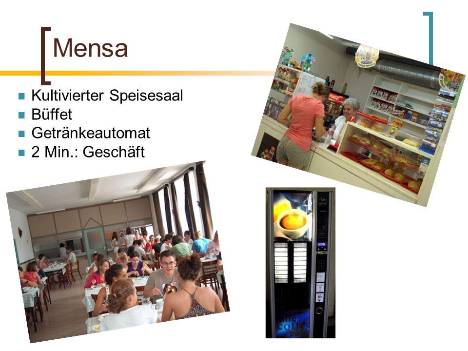 Mensa Kultivierter Speisesaal Büffet Getränkeautomat 2 Min.: Geschäft