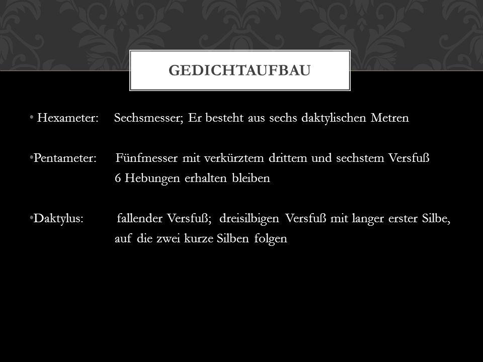 Metapher Vers 6, Vers 9 und Vers 35 Alliteration Vers 13 und Vers 21 Versanfänge jeweils groß geschrieben Verb und Objekt (Ellipse) Fluss steht für Leben und den Fluss des Lebens als Veränderungen, die unumkehrbar sind SPRACHLICHE ANALYSE