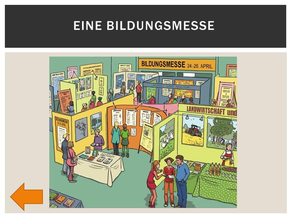 EINE BILDUNGSMESSE