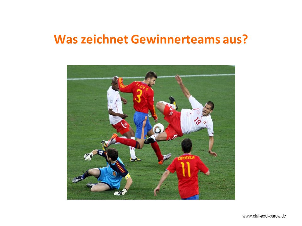 Was zeichnet Gewinnerteams aus? www.olaf-axel-burow.de