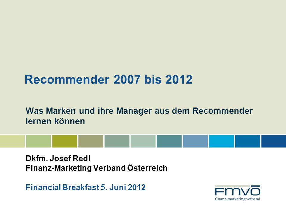 Was Marken und ihre Manager aus dem Recommender lernen können Dkfm.
