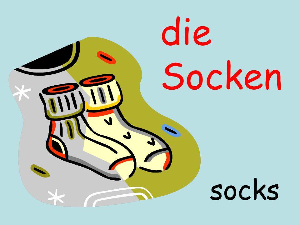 die Socken socks