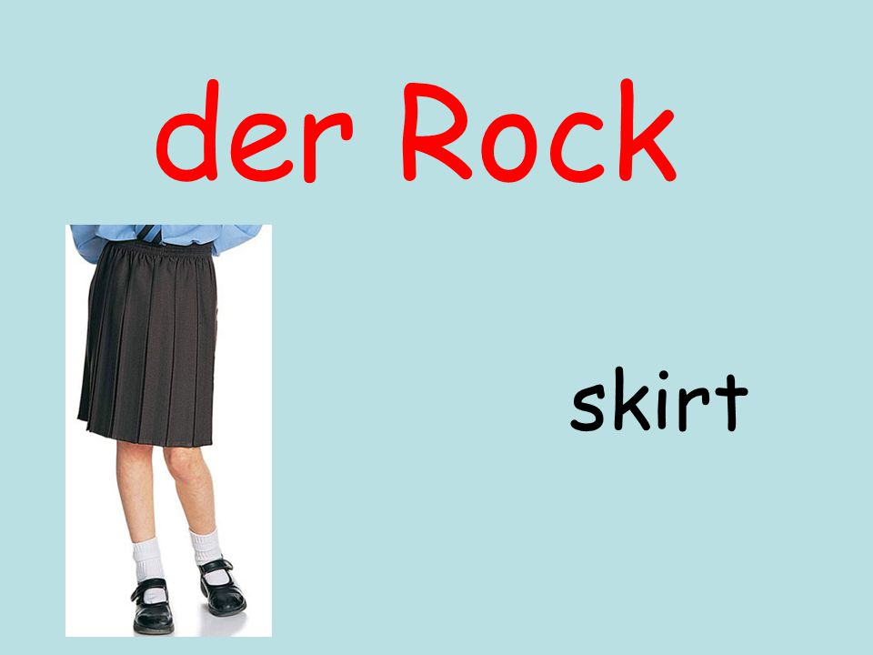 der Rock skirt
