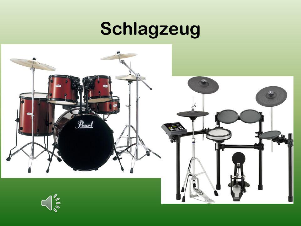 Die Trompete und das Flügelhorn gehörten zu der Gruppe der Blechblasinstrumente.