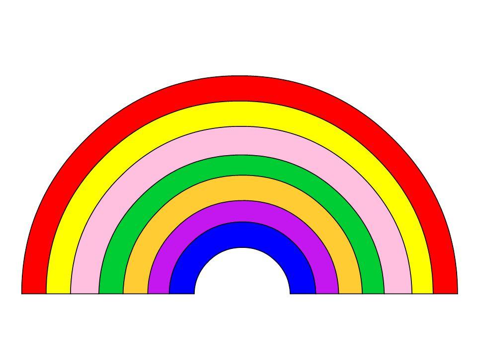 Singt ein Regenbogen Alle Farben Die im Himmel blüh'n und