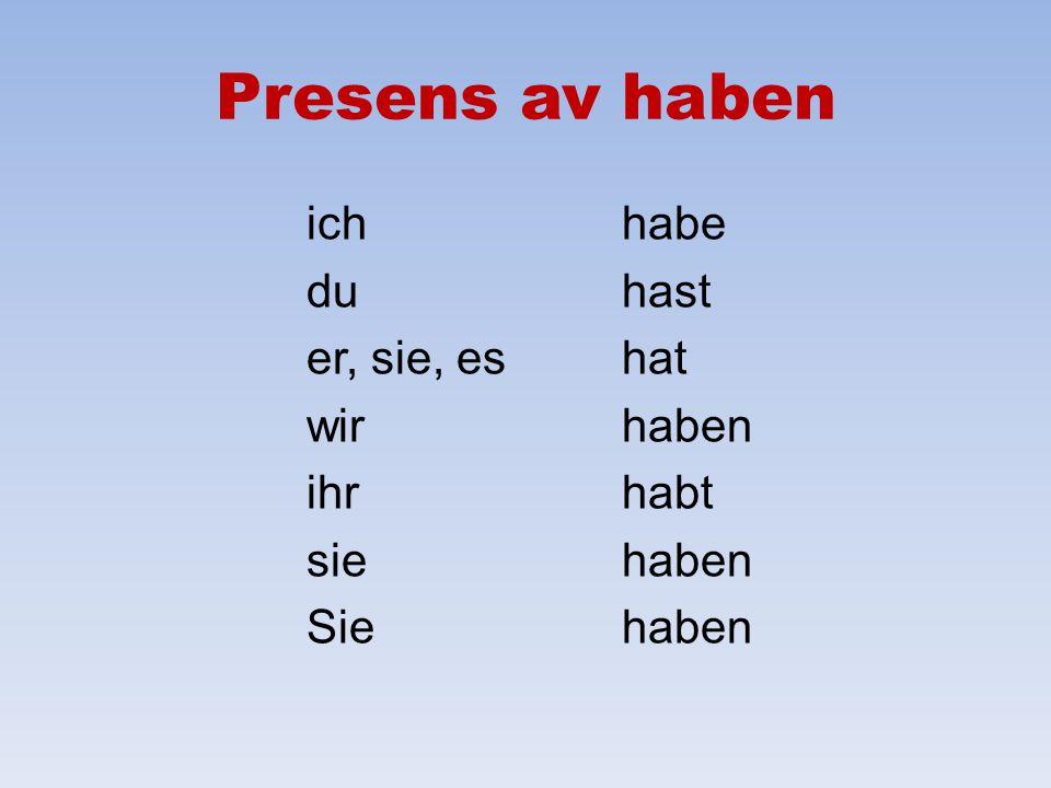 Repetition av grundläggande grammatik i tyska språket Cecilia Härsing, Skogstorpsskolan, Skogstorp – www.lektion.se