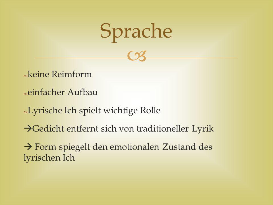   1 Strophe: Er ist sich bewusst über seine Unbeliebtheit und welche Folgen sein kritisches Schreiben haben wird  2 Strophe: Diese Strophe spiegelt Brechts Situation wieder und bestätigt die Feststellung in der ersten Strophe.