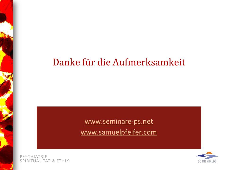 Download www.seminare-ps.net www.samuelpfeifer.com Danke für die Aufmerksamkeit