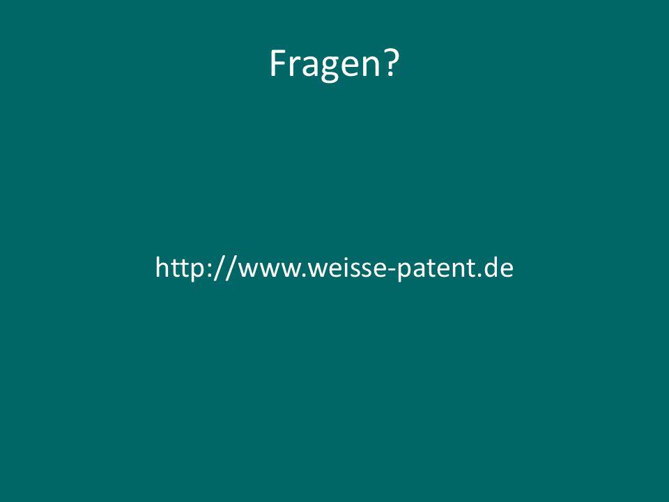 Patente Jahresgebühren Aufrechterhaltung durch Jahresgebühren: jedes Jahr im voraus sonst gilt die Anmeldung als zurückgenommen bzw.