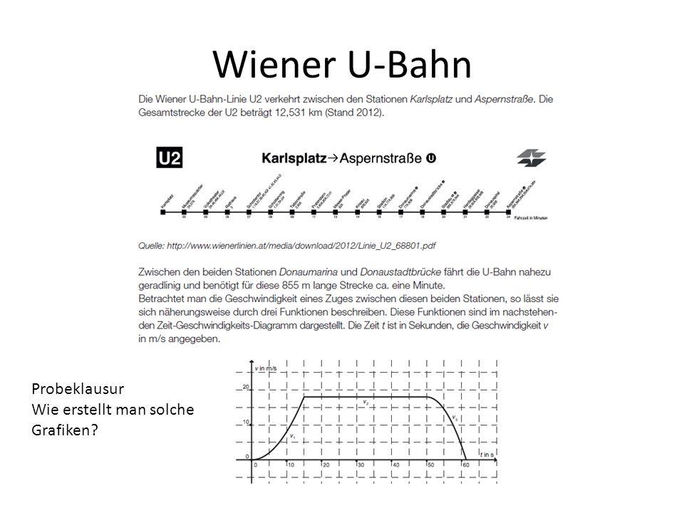 Wiener U-Bahn Probeklausur Wie erstellt man solche Grafiken?