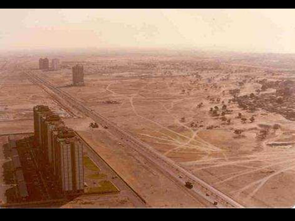 The Burj Dubai Der Bau wurde 2005 begonnen.