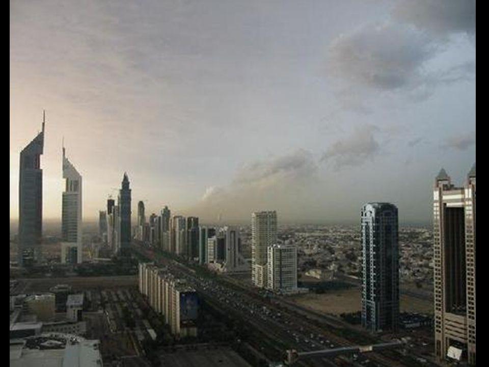 So präsentiert sich das Stadtzentrum von Dubai.