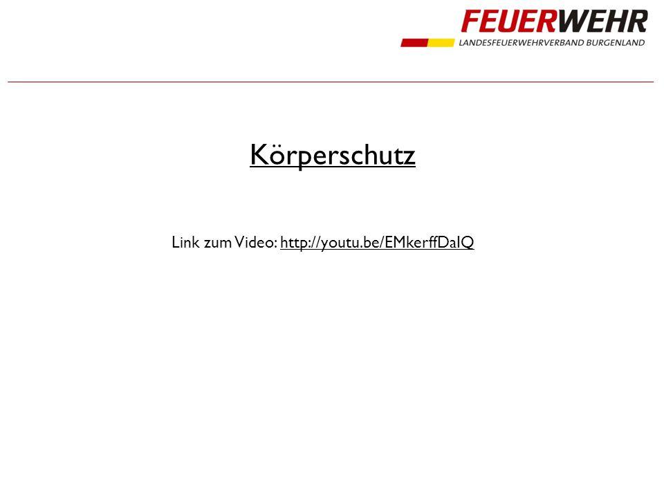 Körperschutz Link zum Video: http://youtu.be/EMkerffDaIQhttp://youtu.be/EMkerffDaIQ