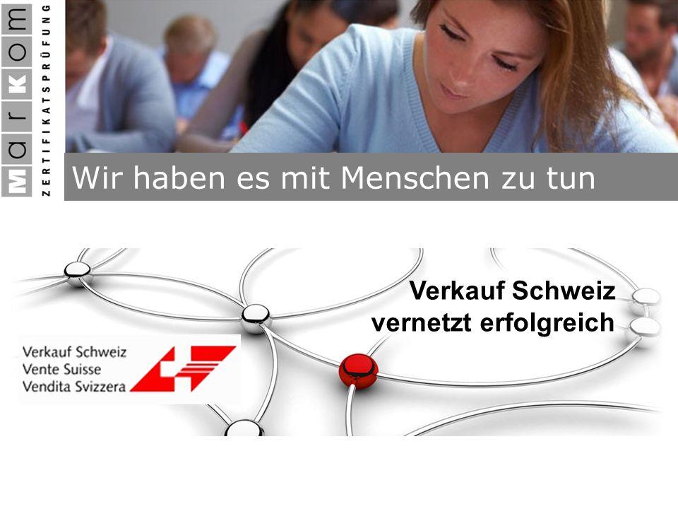 Verkauf Schweiz vernetzt erfolgreich
