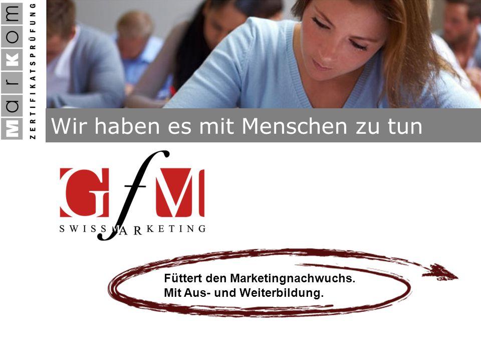 Füttert den Marketingnachwuchs. Mit Aus- und Weiterbildung.