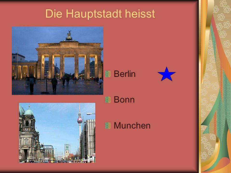 Wie groß ist Deutschland? 357 000 km² 138 000 km² 598 000 km²
