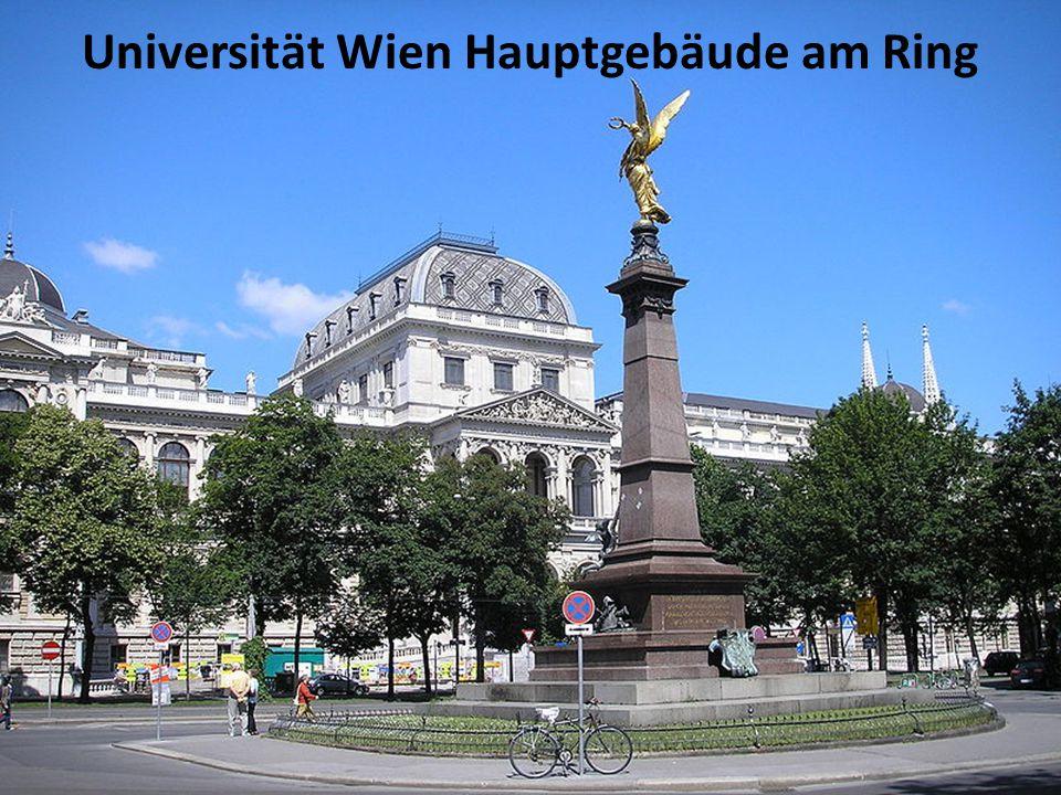 Universität Wien Hauptgebäude am Ring