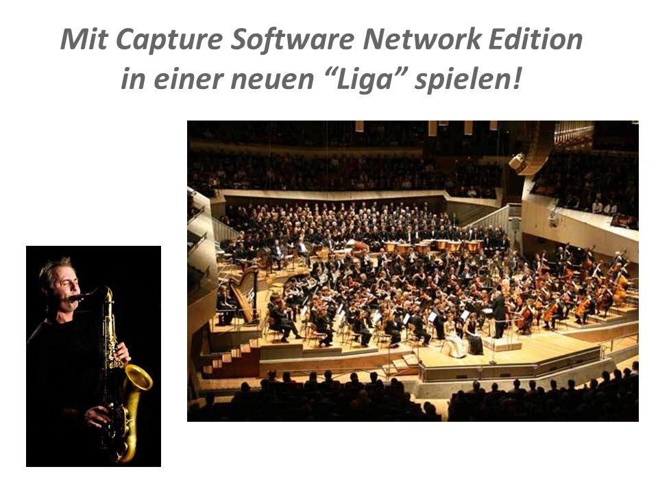 """Document Imaging 14 Mit Capture Software Network Edition in einer neuen """"Liga"""" spielen!"""