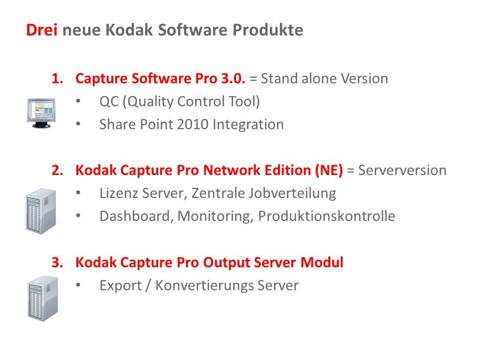 Document Imaging 4 Die CS Pro Roadmap Q2 2008 1/2011 1.0 2.0 1.1 2.5 3.0 NE