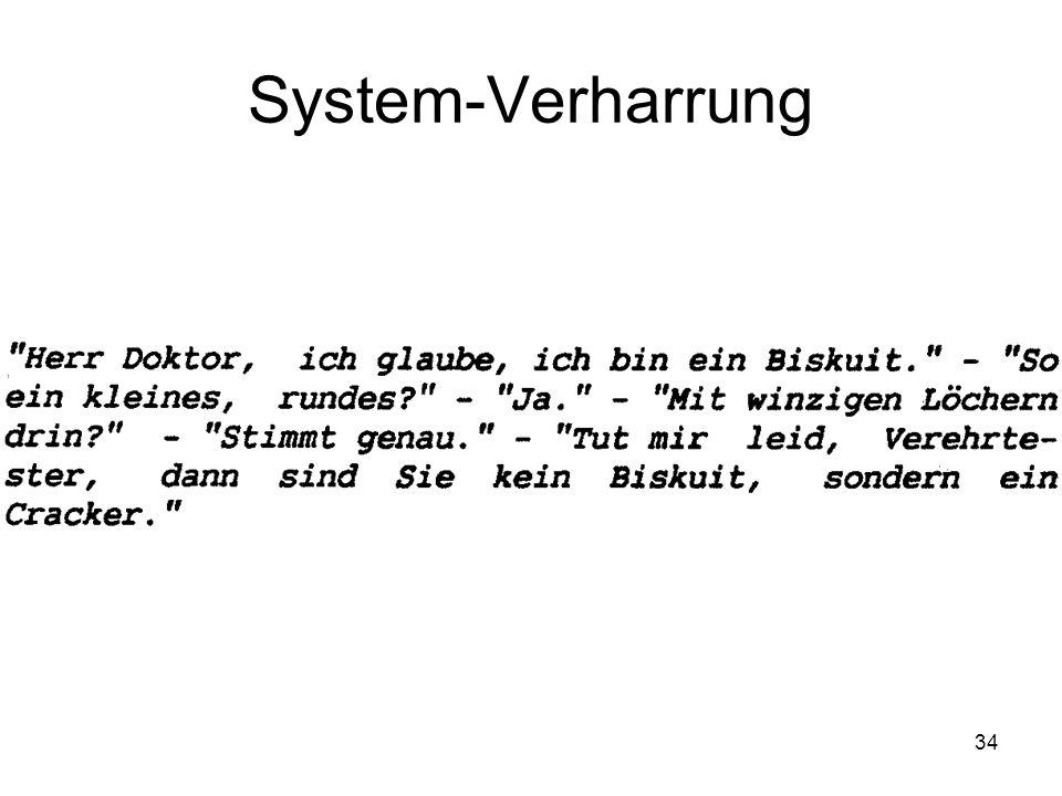 34 System-Verharrung