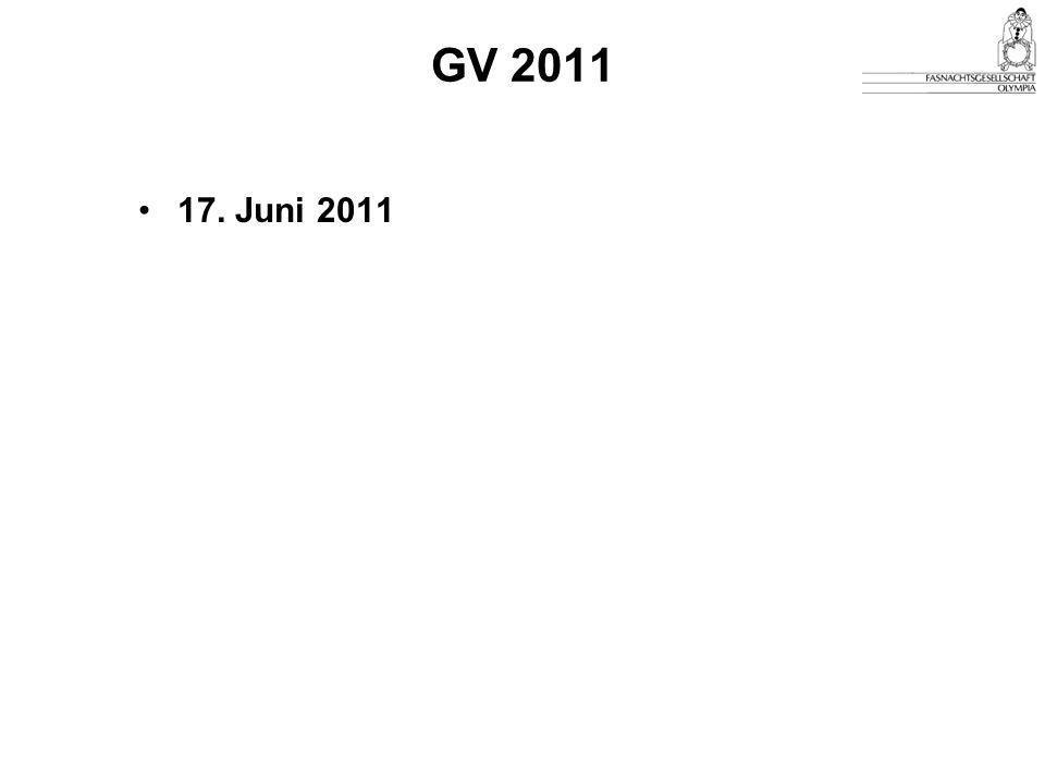 GV 2011 17. Juni 2011