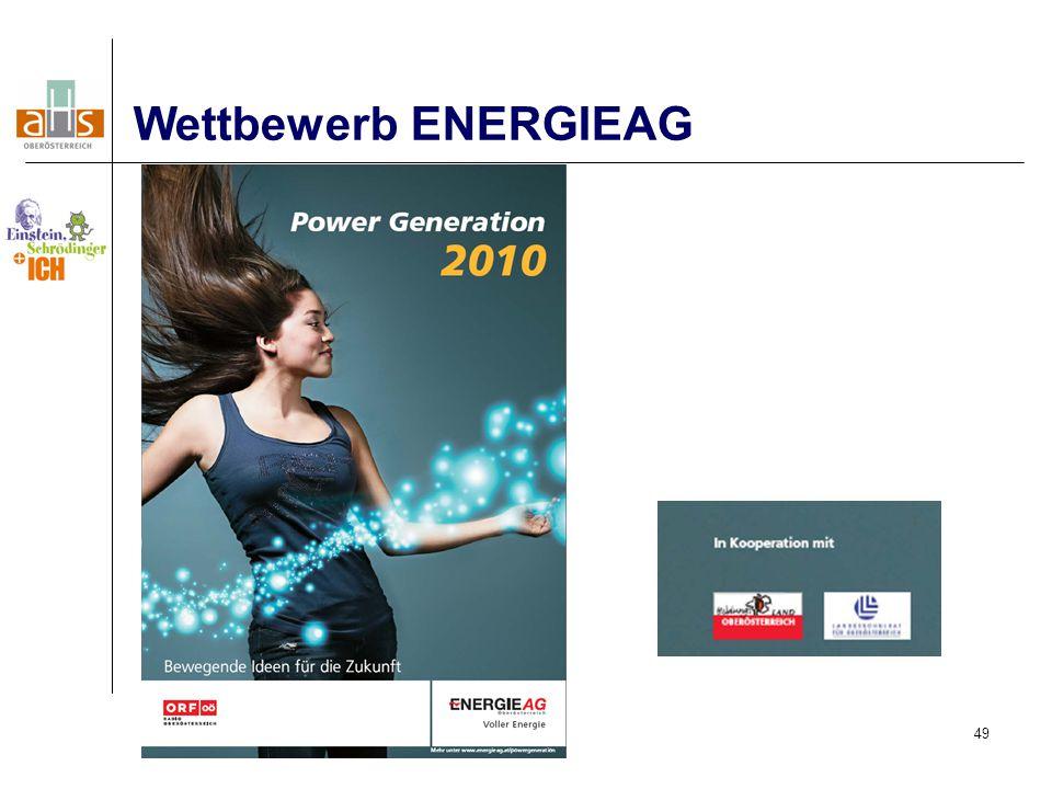 49 Wettbewerb ENERGIEAG