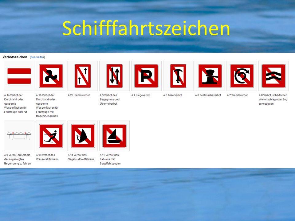 Schifffahrtszeichen
