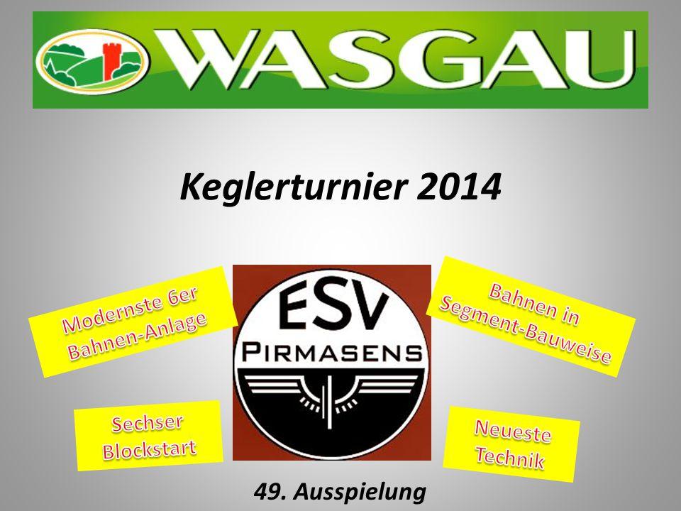 Keglerturnier 2014 49. Ausspielung