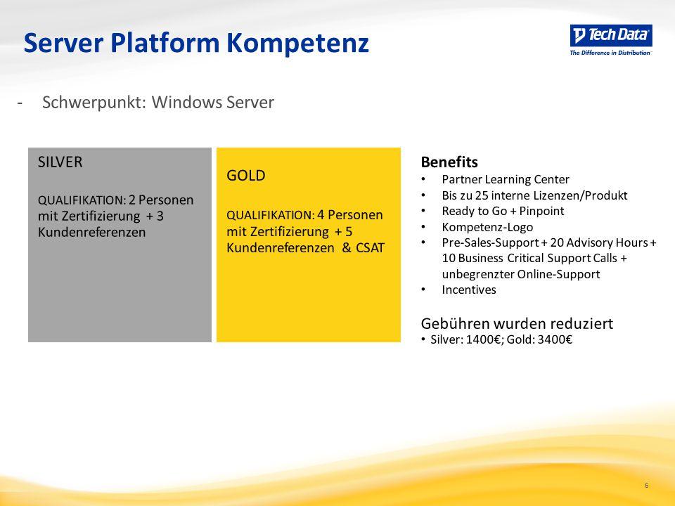 6 Server Platform Kompetenz