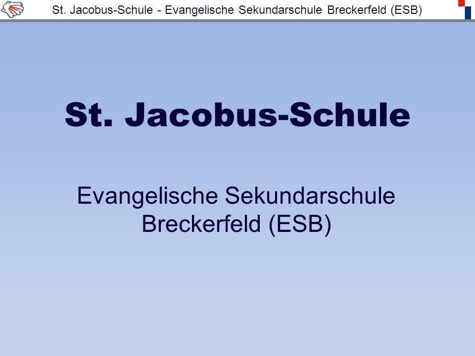 St. Jacobus-Schule Evangelische Sekundarschule Breckerfeld (ESB) St.