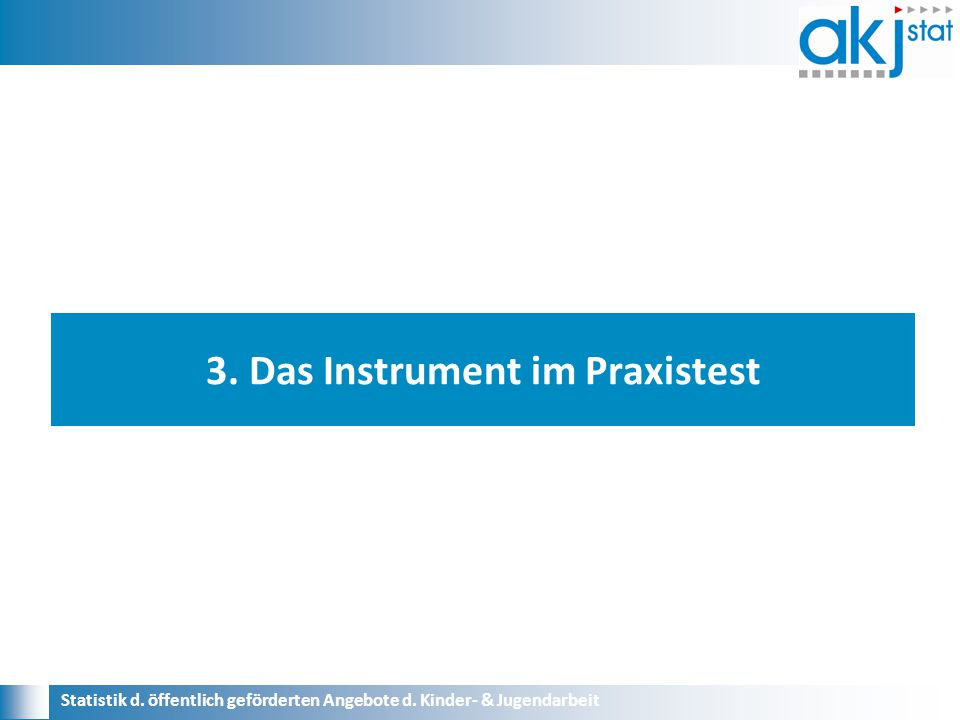 3. Das Instrument im Praxistest